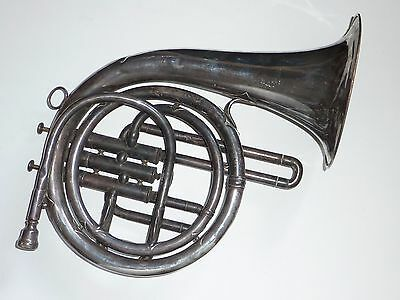 Antique Distin & Co London Mellophone horn