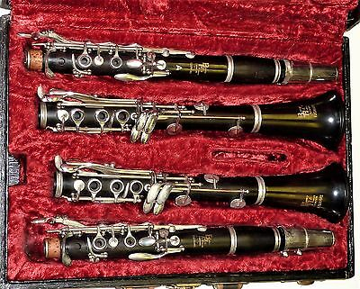 Boosey & Hawkes Edgware A & Bb Wooden Clarinet