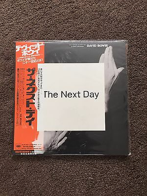 DAVID BOWIE THE Next Day Yellow Vinyl record Japan Japanese V&a Bowie is new