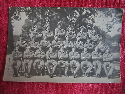 WW2 RP Postcard Holyrood Army Soldiers Scots Guards Group Photo fd27b-16