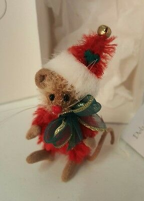 """Deb Canham Merry Mouse 2000 Le 228 Of 1,000  """"mini Mices"""" New In Box"""