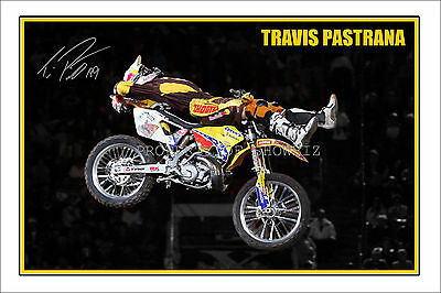 * Travis Pastrana * Large Signed Autograph Poster Photo Print, Grab Your's Now!