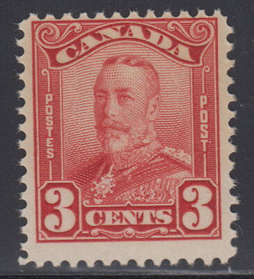 Canada #151 3¢ King George V Scroll Issue Mint Never Hinged