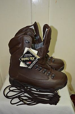British Army Cold Wet Weather Karrimor SF Goretex Waterproof Combat Boots 7 W