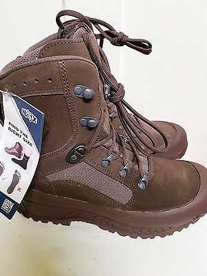 British Army Haix Desert COMBAT HIGH LIABILITY BROWN Boots UK Size 7 M