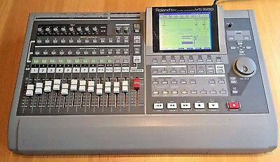ROLAND VS1680 16-Track Digital Recorder Workstation + 2x VS8F2 FX Cards