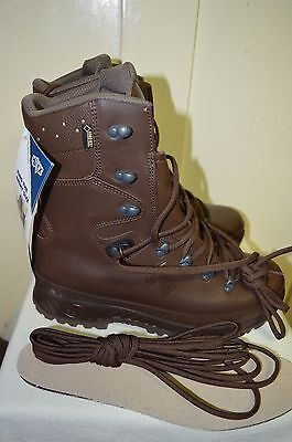 British Army MTP Haix GTX Full Leather Goretex Cold Wet Weather Boots Size 9 M