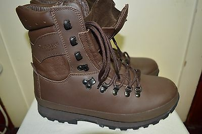 British Army MTP Altberg Defender Brown Combat Boots Size 9 M Medium