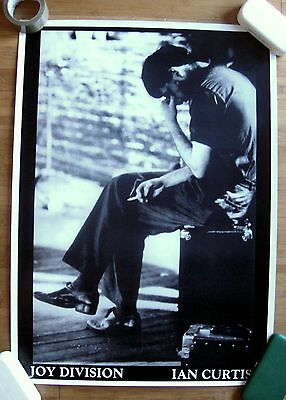 JOY DIVISION Ian Curtis sitting Poster Large Format 24 x 36 Post Punk New Wave
