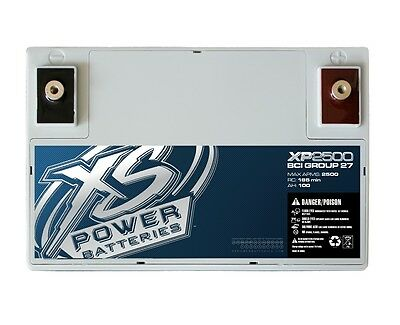 New XS Power XP2000 12V 2000 Amp Deep Cycle AGM Car Audio Battery/Power Cell