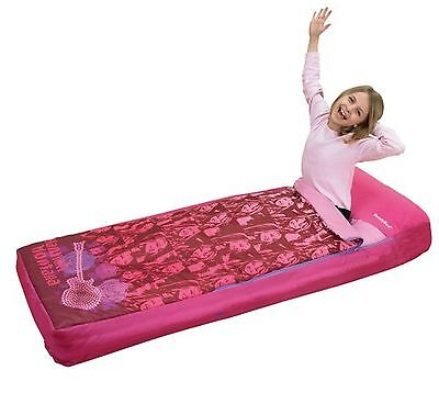 Hannah Montana Readybed - Inflatable Mattress & Sleeping Bag with Electric Pump