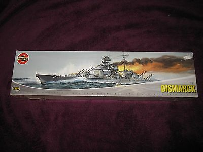 AIRFIX 1:600 BISMARCK Battleship model kit A04204 BRAND NEW!