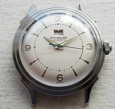 Selling a Used Vintage SS Wittnauer Power Reserve Indicator WristWatch