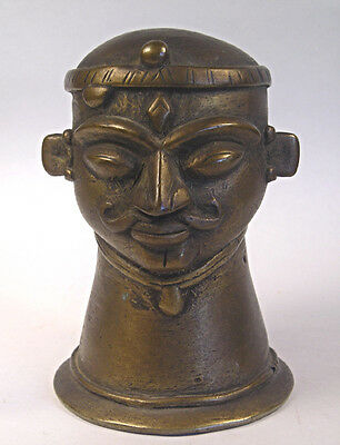 An Antique Bronze of Hindu God Shiva T44