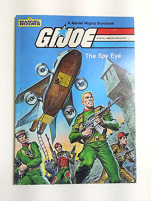 Gi Joe The Spy Eye Softcover Storybook Marvel 1983 32 Pages Excellent & Bright