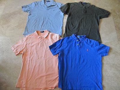 Lot, 4 mens size L,large Polo by Ralph Lauren shirts, tops