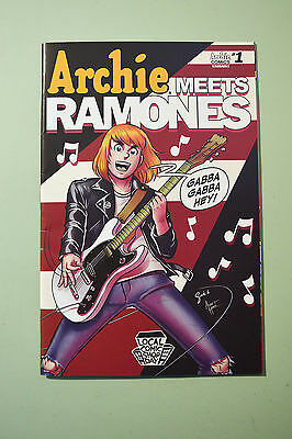 Archie Meets Ramones #1 Local Comic Shop Day Variant - Good Condition