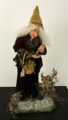 "21"" Gardening Magic Witch Hag OOAK by Fayette Knoop"