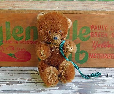 Vintage German Mini Jointed Mohair Teddy Bear
