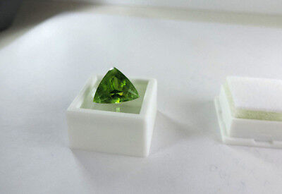 8.40ct Green San Carlos Gila Co. Arizona Peridot. Cut by me:) GORGEOUS :)