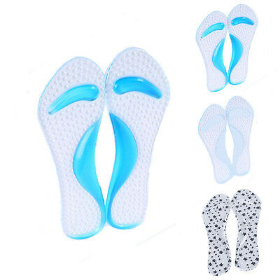 1pair Non-Slip Shoes Insole High Heel Arch Cushion Support Silicone Gel Pads Hot