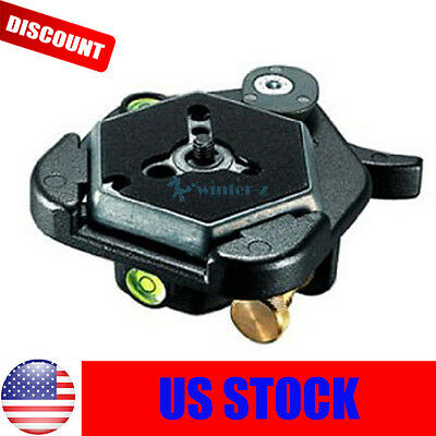 """Hexagonal Quick Release Plates 3049 1/4"""" Screw For Manfrotto #030-14 RC0 3063 US"""