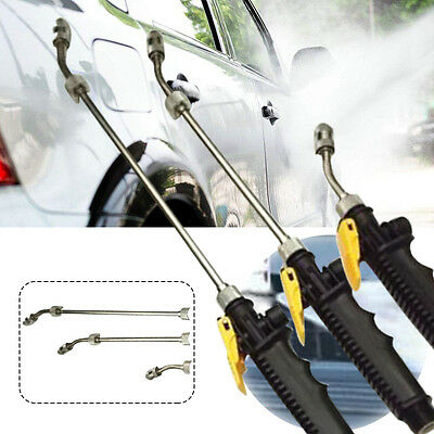 Pole High Pressure Power Washer Spray Nozzle Water Gun Hose Wand Lance