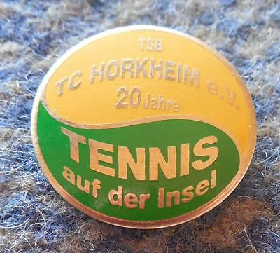 Tc Horkheim 20 Jubilaum Tennis Klub Pin Badge