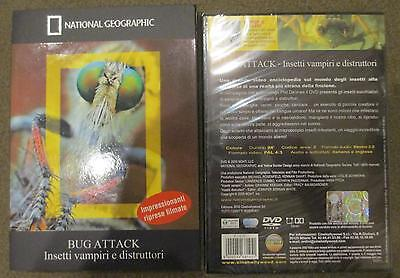 Bug Attack National Geographic 94 min DVD *NUOVO SIGILLATO*