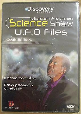 UFO Files Science Show 90 min (2014) DVD **NUOVO SIGILLATO**