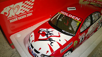 Signed - 1:18 - 2001 Mark Skaife V8 Supercars #1 Model - RARE - Holden HSV HRT