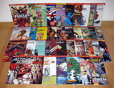 Gratis Comic Tag 2013-2016: 39 Hefte - Attack on Titan, Avengers, Schlümpfe