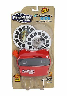 View Master Classic Viewer with 2 Reels Space Discovery Toy