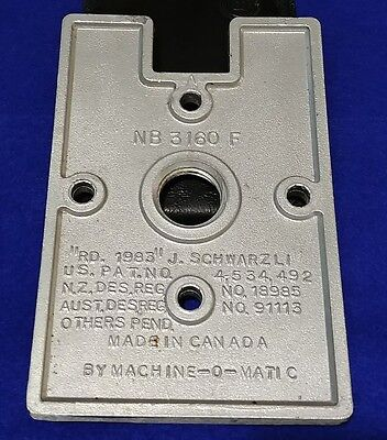 1 x NORTHERN BEAVER VENDING MACHINE MOUNTING BRACKET FOR BS800 STANDS