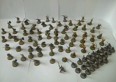 Lord of the rings warhammer army X95 models and case games workshop (w2867)