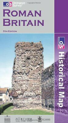 Roman Britain (Historical Map & Guide) by Ordnance Survey Sheet map, folded The
