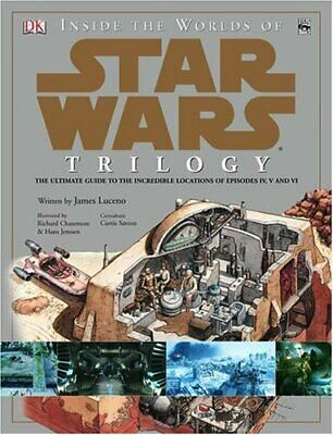 """Inside the Worlds of """"Star Wars"""" Trilogy by Luceno, Jim Hardback Book The Cheap"""