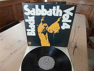 "BLACK SABBATH Vol 4 - ORIG UK 1st PRESS-1Y2Y-BOOKLET-""SUPERB AUDIO"" EX+ LP 1972"