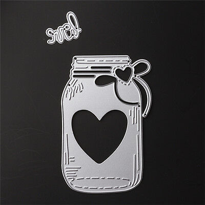 Bottle Dies Metal Cutting DIY Stencil For Scrapbooking Paper Cards Gift Decor