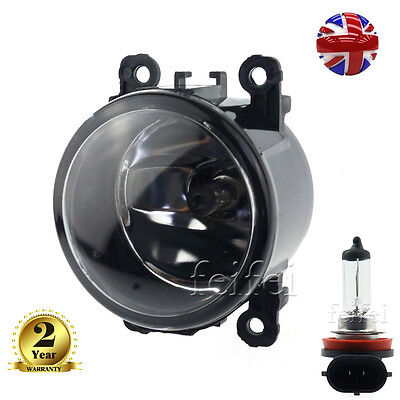 1x Front Fog Light Lamp With Bulb For Trafic Vauxhall  Vivaro Renault UK STOCK