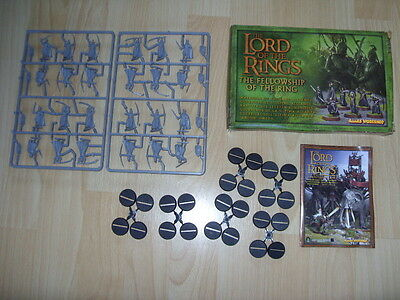 Lord Of The Rings - 16 High Elves & 8 Men Of Gondor - Plastic Figures Warhammer