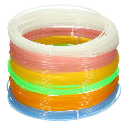Colors Glow In The Dark 10m 3D Printer Filament 1.75mm PLA For MakerBot RepRap