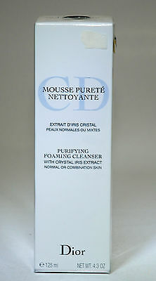 Dior Purifying Foaming Cleanser With Crystal Iris Extract 125 Ml