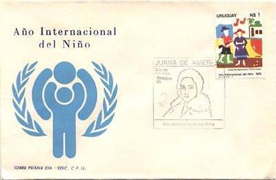 Uruguay 1066 International Year Of The Child  FDC