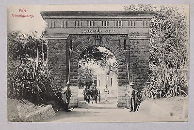 Antique India Postcard - Hyderabad Fort Trimulgherry