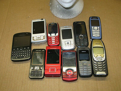 Mobile Phone Job Lot X11 Customer Returns Sony Samsung Nokia Etc As Is