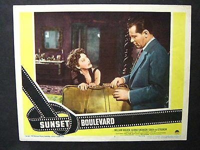 Sunset Boulevard '50 Gloria Swanson Doesn't Want William Holden To Leave Lc3
