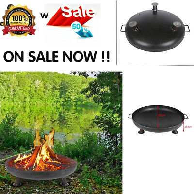 Portable Charcoal BBQ Grill Garden Barbecue Camping Party Cooking Foldable Steel