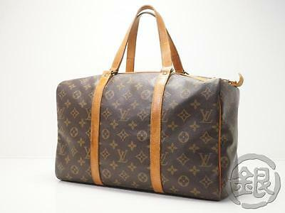 Sale AUTH PRE-OWNED LOUIS VUITTON VINTAGE SAC SOUPLE 35 DUFFLE BAG M41626 171223