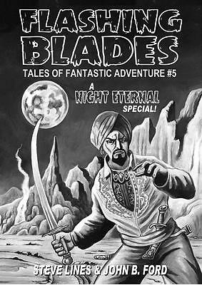 168 FLASHING BLADES #5 Rainfall chapbook.Tales of swordplay, sorcery & adventure